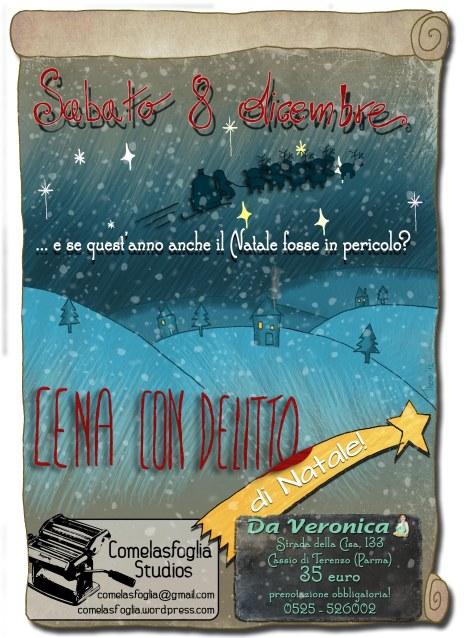 """Cena con delitto di Natale @ Ristorante """"Da Veronica"""""""