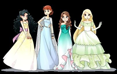 Principesse al Ballo