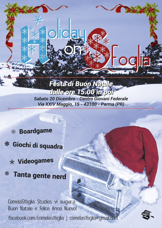 Holiday on sfoglia 2014 festa nerd a Parma
